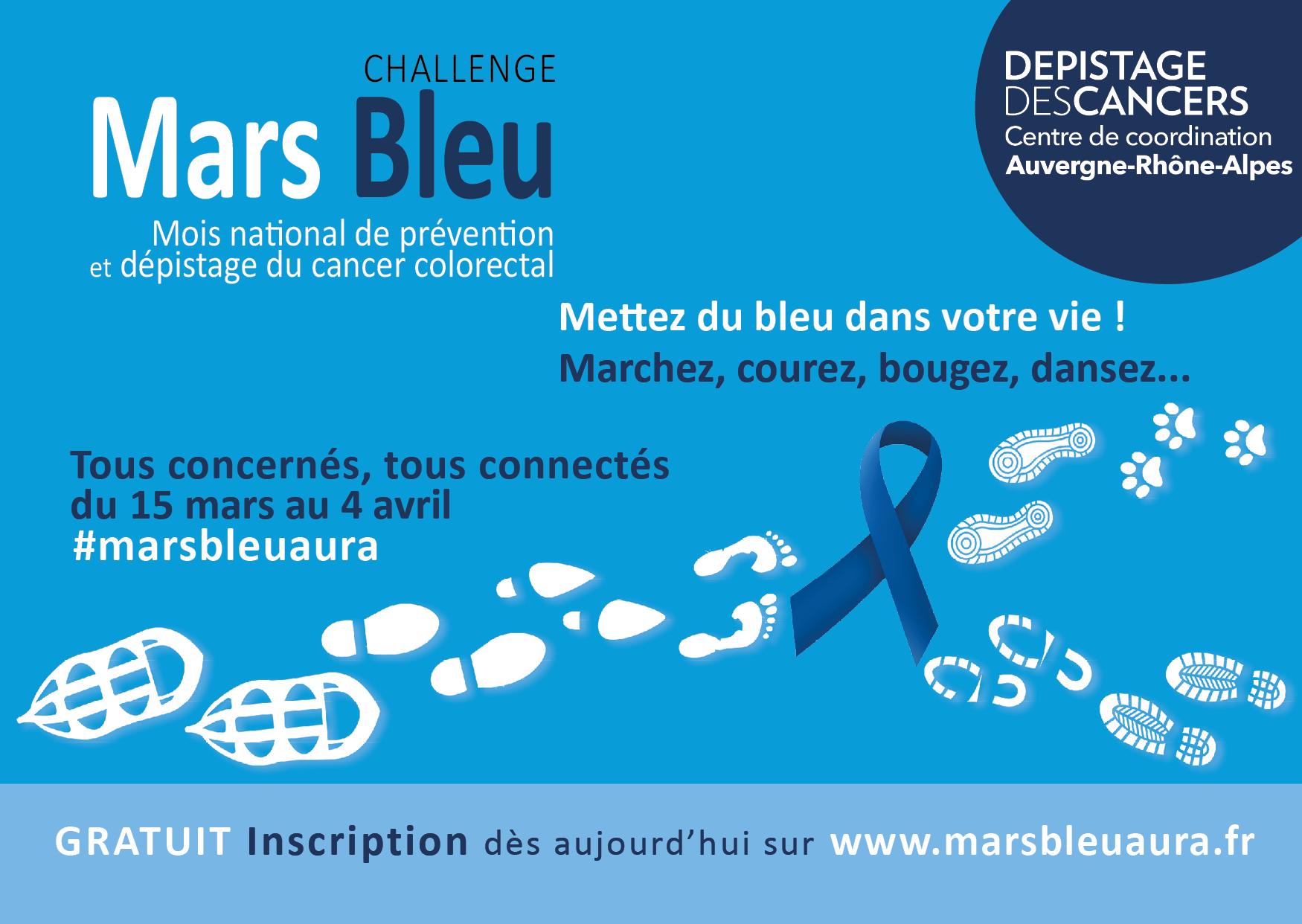 Mars bleu : mois du dépistage des cancers